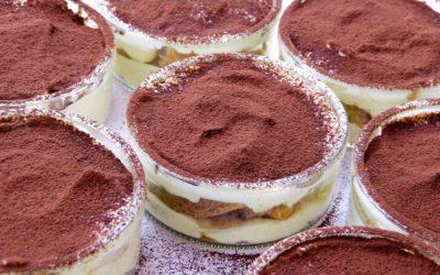 Low-carb, gluten-free Tiramisu